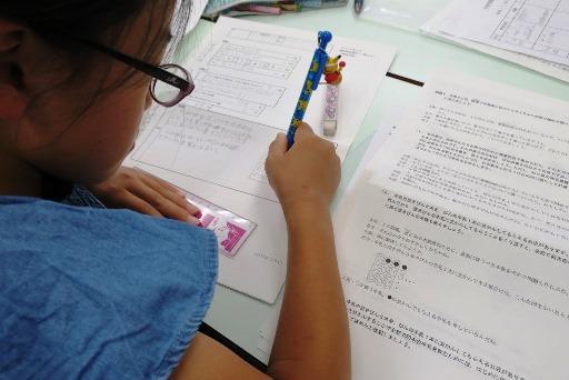 岡山市北区西崎の学習塾I(アイ)小学生指導クラスの様子3