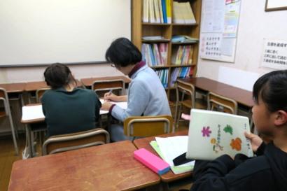 岡山市北区西崎の学習塾I(アイ)小学生指導クラスの様子2