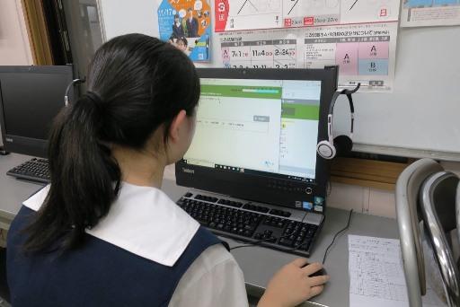 岡山市北区西崎の学習塾I(アイ)英検クラスの様子2