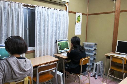 岡山市北区西崎の学習塾I(アイ)高校生指導クラスの様子2