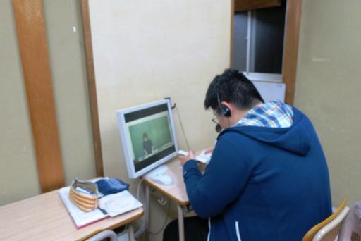 岡山市北区西崎の学習塾I(アイ)高校生指導クラスの様子3