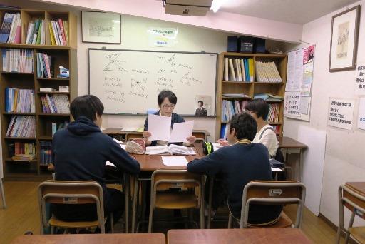 岡山市北区西崎の学習塾I(アイ)中学生指導クラスの様子2
